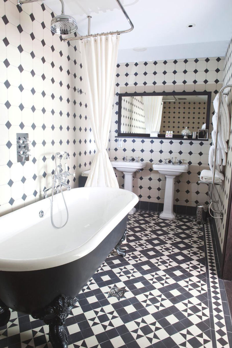 Tiles Talk Black And White Bathrooms Design Ideas Perini