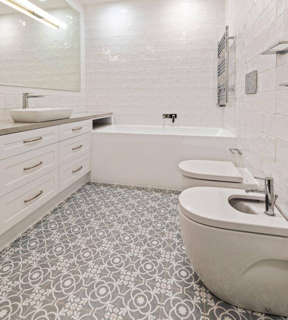 timeless bathroom colour scheme