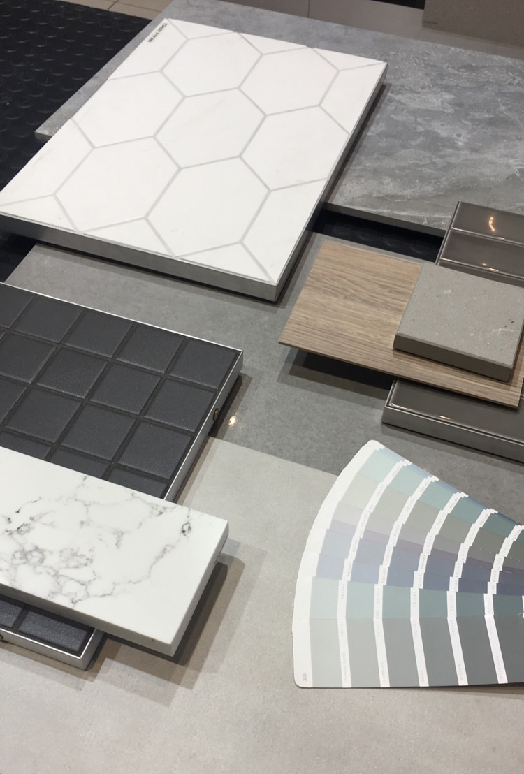 Perini Tiles Showroom, Choosing Colour Schemes for Tile Selection