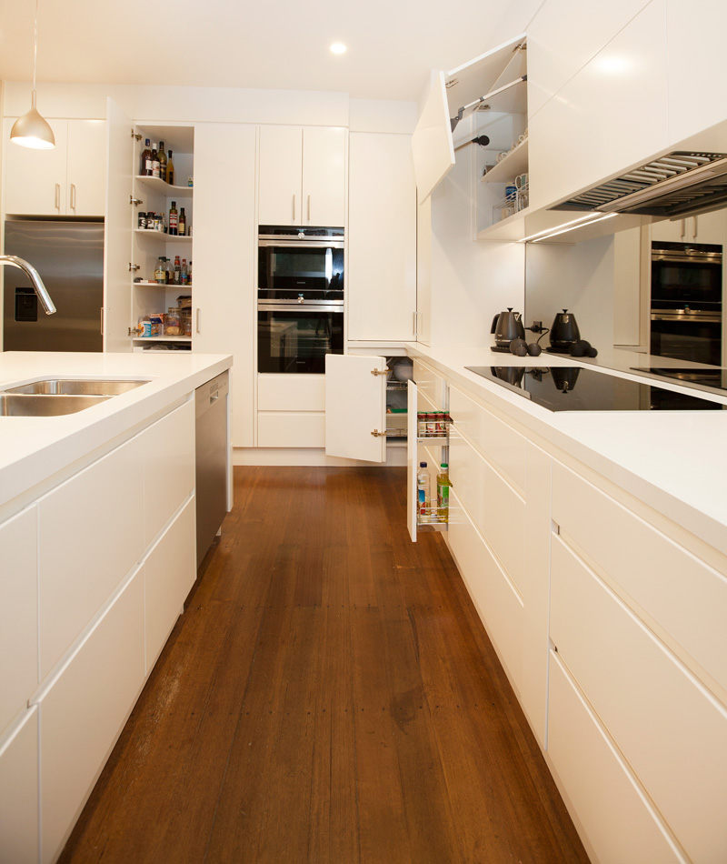 Perini Kitchen and Bathroom Renovation, Canterbury Kitchen Renovation, Hardware and Appliance Testing