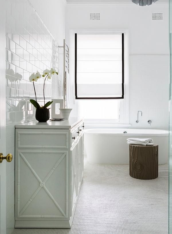 Tiles Talk Hampton Style Bathroom Perini