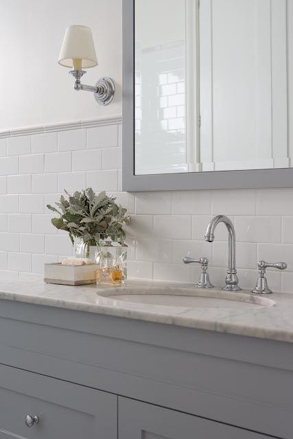 Tiles Talk Hampton Style Bathroom Perini