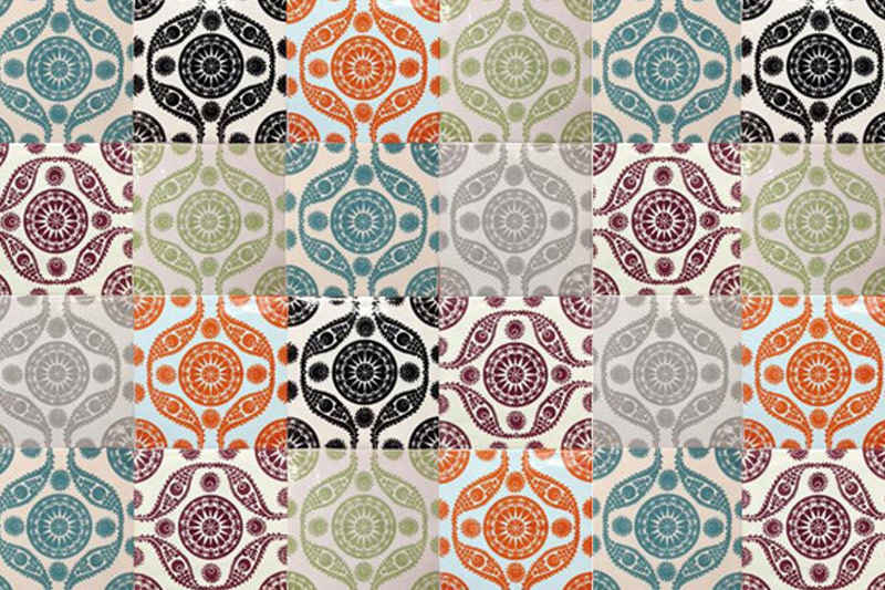 Wall Tiles, Kitchen Tiles, Bathroom Tiles, Moroccan Style, Jaipur Collection