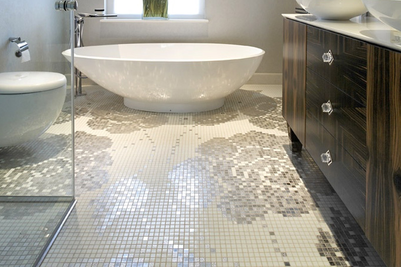 Tiles Talk 5 Ways To Style Your Bathroom With Glass Mosaic