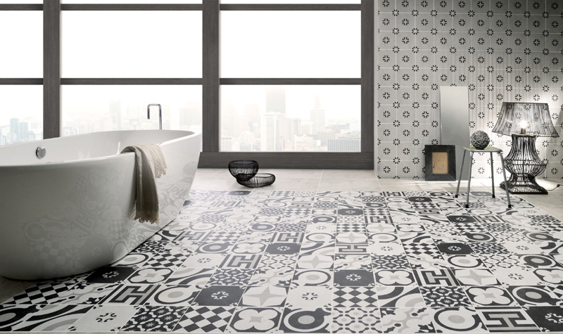 Wall Tiles, Floor Tiles, Bathroom Tiles, Arcade Collection