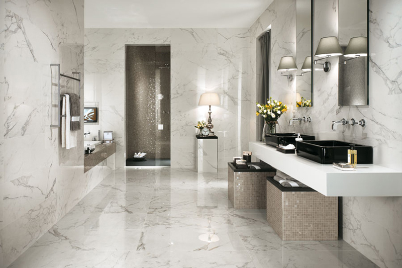 Wall Tiles, Floor Tiles, Bathroom Tiles, Marble Tiles, Florence Isola Collection
