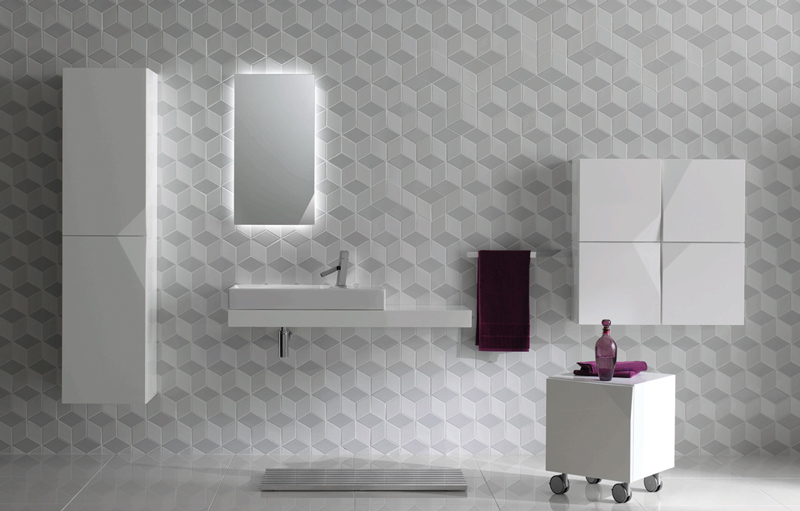 Wall Tiles, Floor Tiles, Bathroom Tiles, Geometric Tiles, Shapes Collection