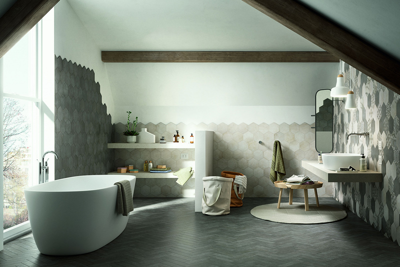 Wall Tiles, Floor Tiles, Perini Bathroom Renovations, Abstract Collection