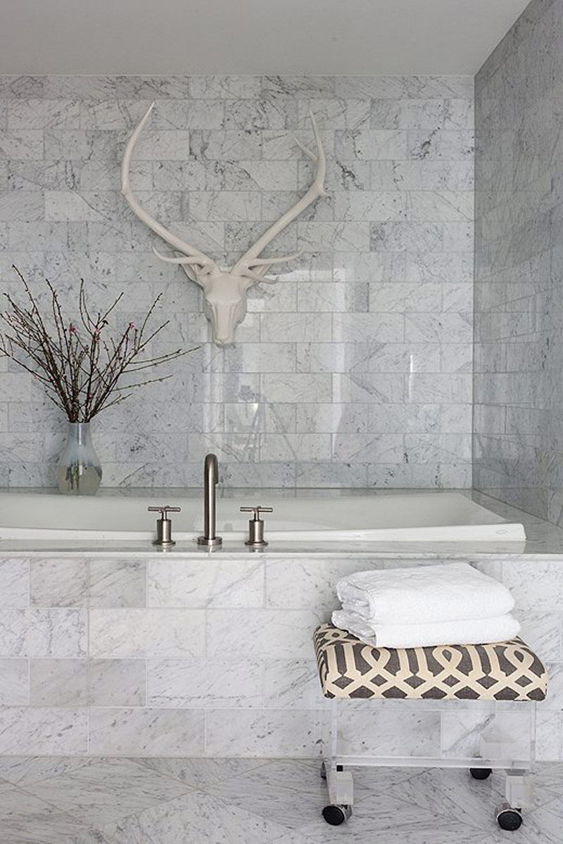 Wall Tiles, Floor Tiles, Bathroom Tiles, Marble Tiles, Carrara One Kings Lane
