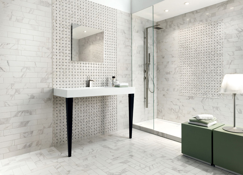 Wall Tiles, Floor Tiles, Bathroom Tiles, Marble Tiles, Porcelain Tiles, Del Marmo Collection