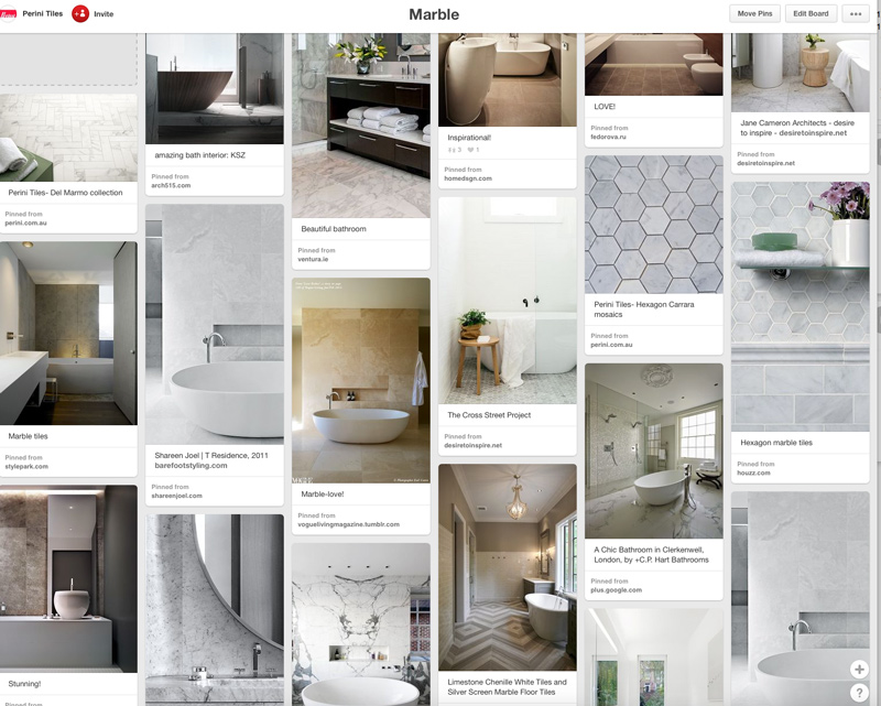 Wall Tiles, Floor Tiles, Bathroom Tiles, Marble Tiles, Perini Pinterest Board
