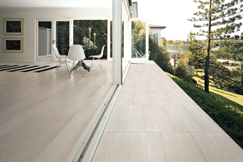 Floor Tiles, Porcelain Timber Tiles, Woodlands White External