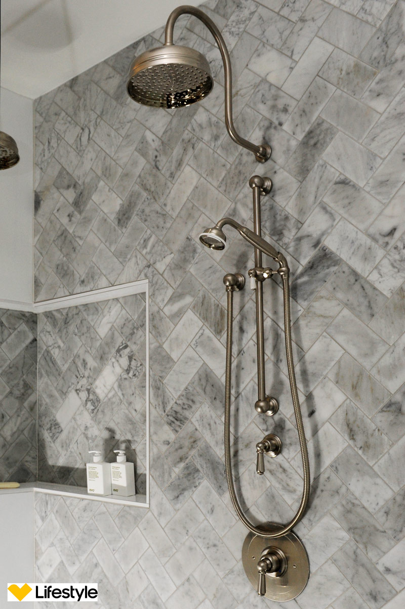 Bathroom Tiles, Florence Isola Tiles Grey Satin