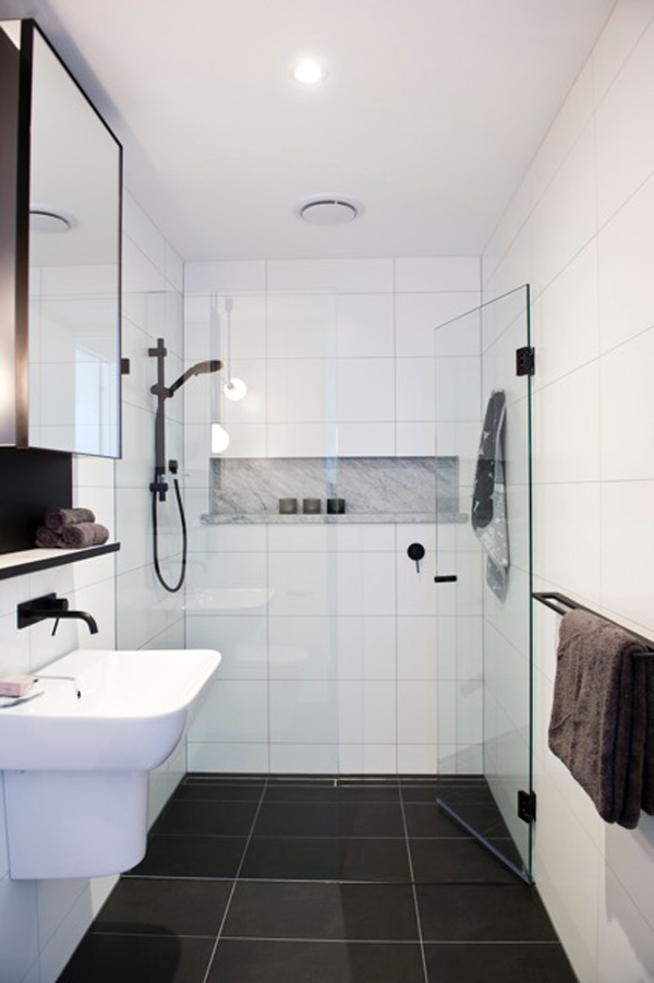 Wall Tiles, Floor Tiles, Bathroom Tiles, Black and White Tiles, Helen McVean Projects
