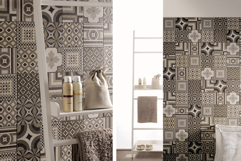 Wall Tiles, Bathroom Tiles, Patterned and Decorative Tiles, Modello Collection