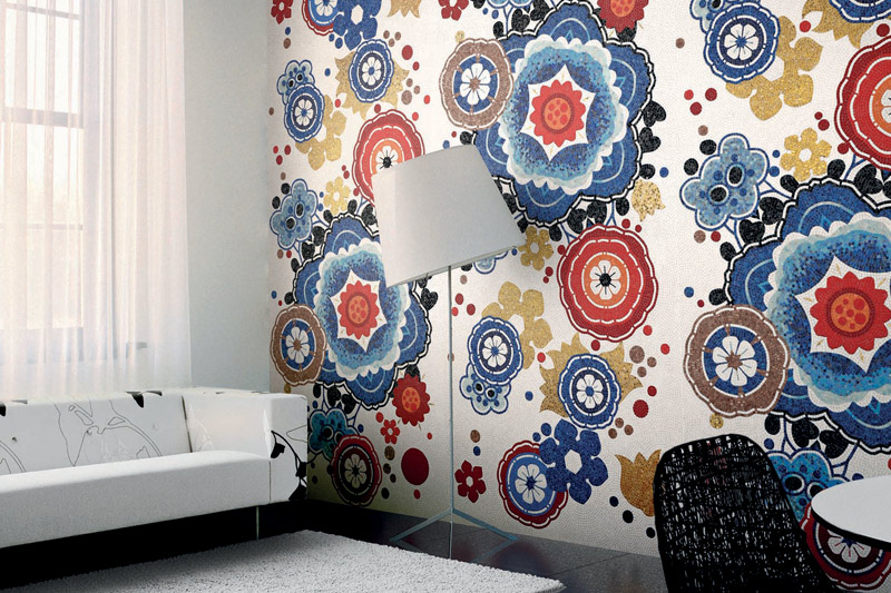 Wall Tiles, Patterned and Decorative Tiles, Bisazza Bloem