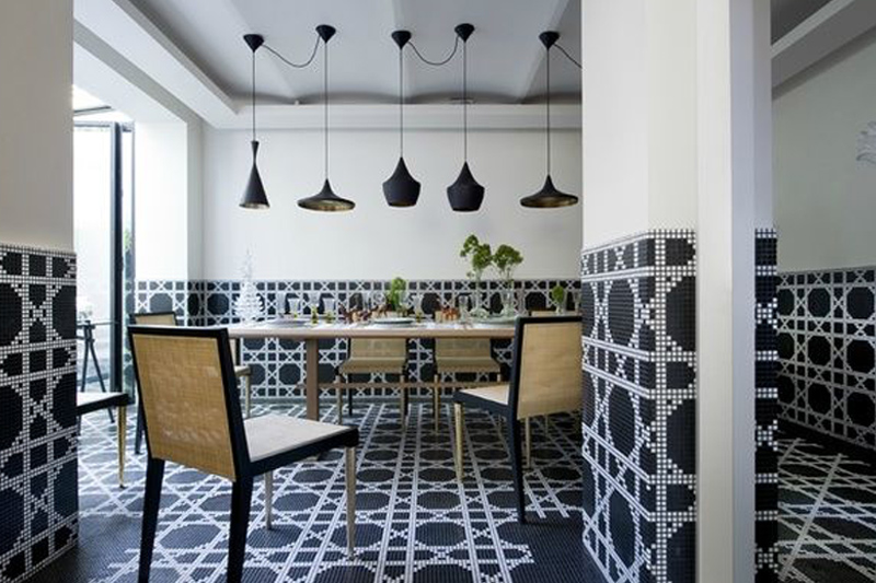 Wall Tiles, Patterned and Decorative Tiles, Mosaic Tiles, Bisazza Vienna Nero