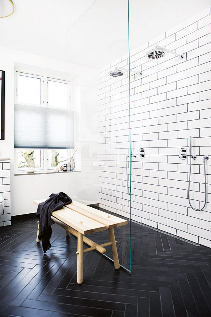 Wall Tiles, Floor Tiles, Bathroom Tiles, Patterned Tiles, Black and White Tiles, Inside Out
