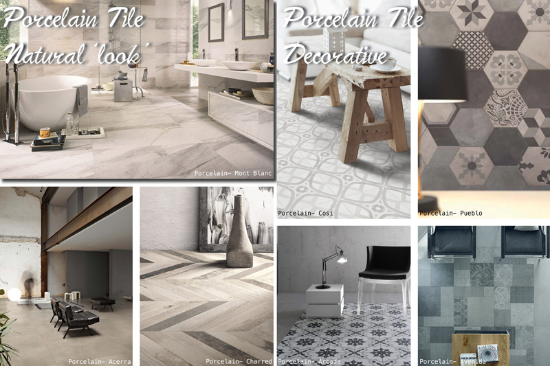 Perini Tiles, Porcelain Tiles, Natural Look Tiles, Decorative Tiles