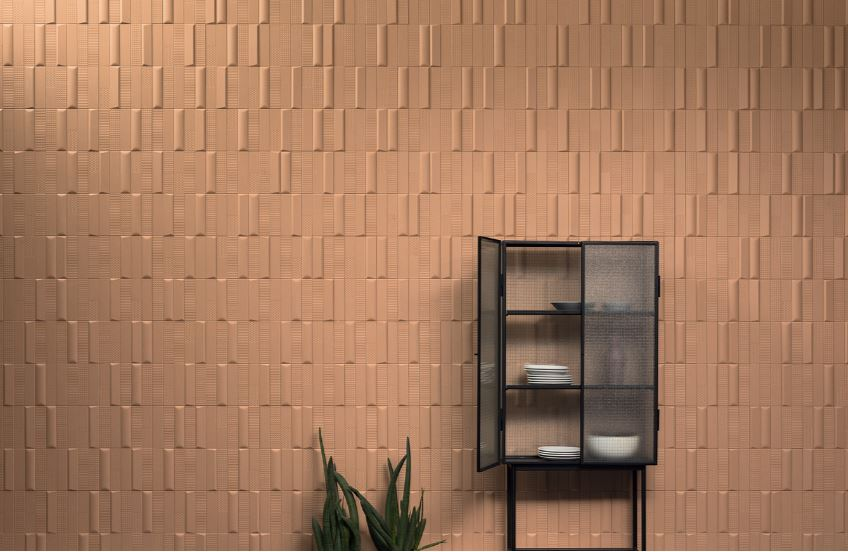 3D patterned tiles