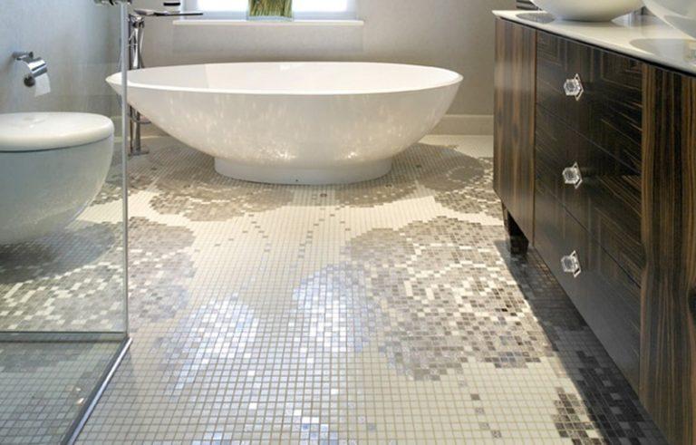 Bisazza decorative mosaics for bathroom