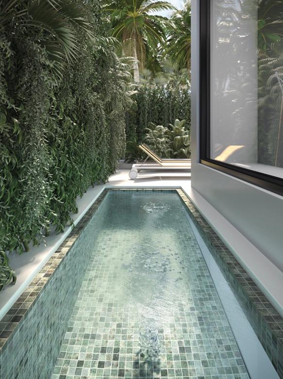 Omnia swimming pool tiles