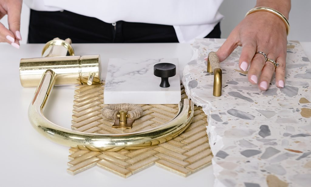bathroom tile selection
