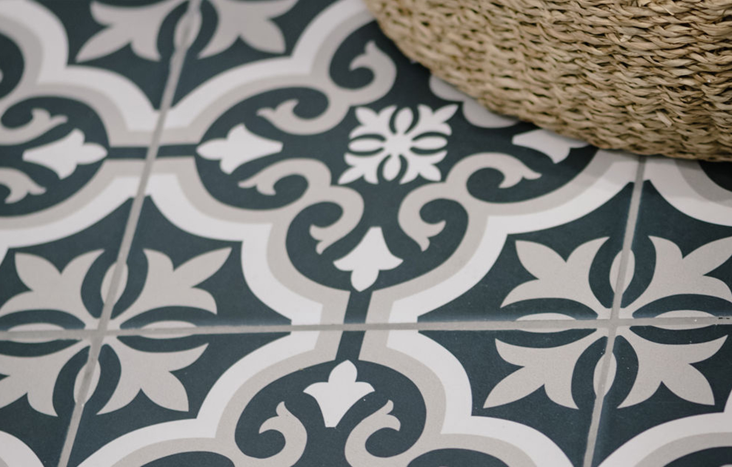 Harlow patterned tiles