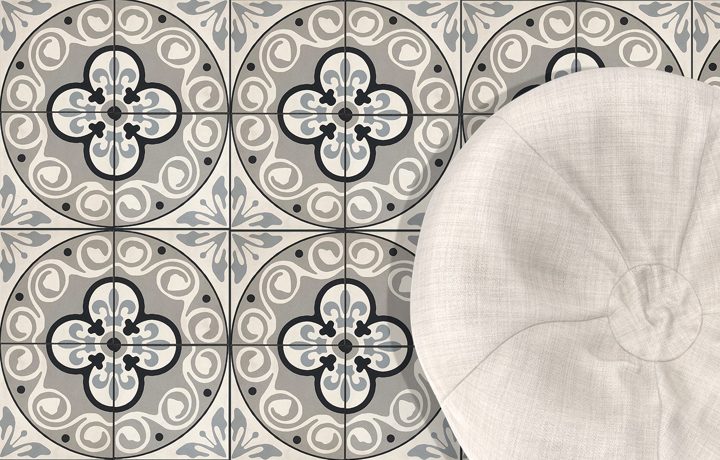 Patroon porcelain pattern tiles