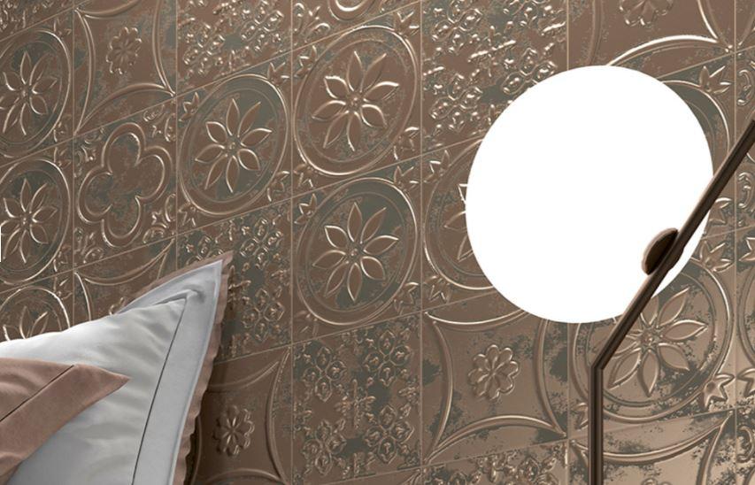 Press ceramic tiles