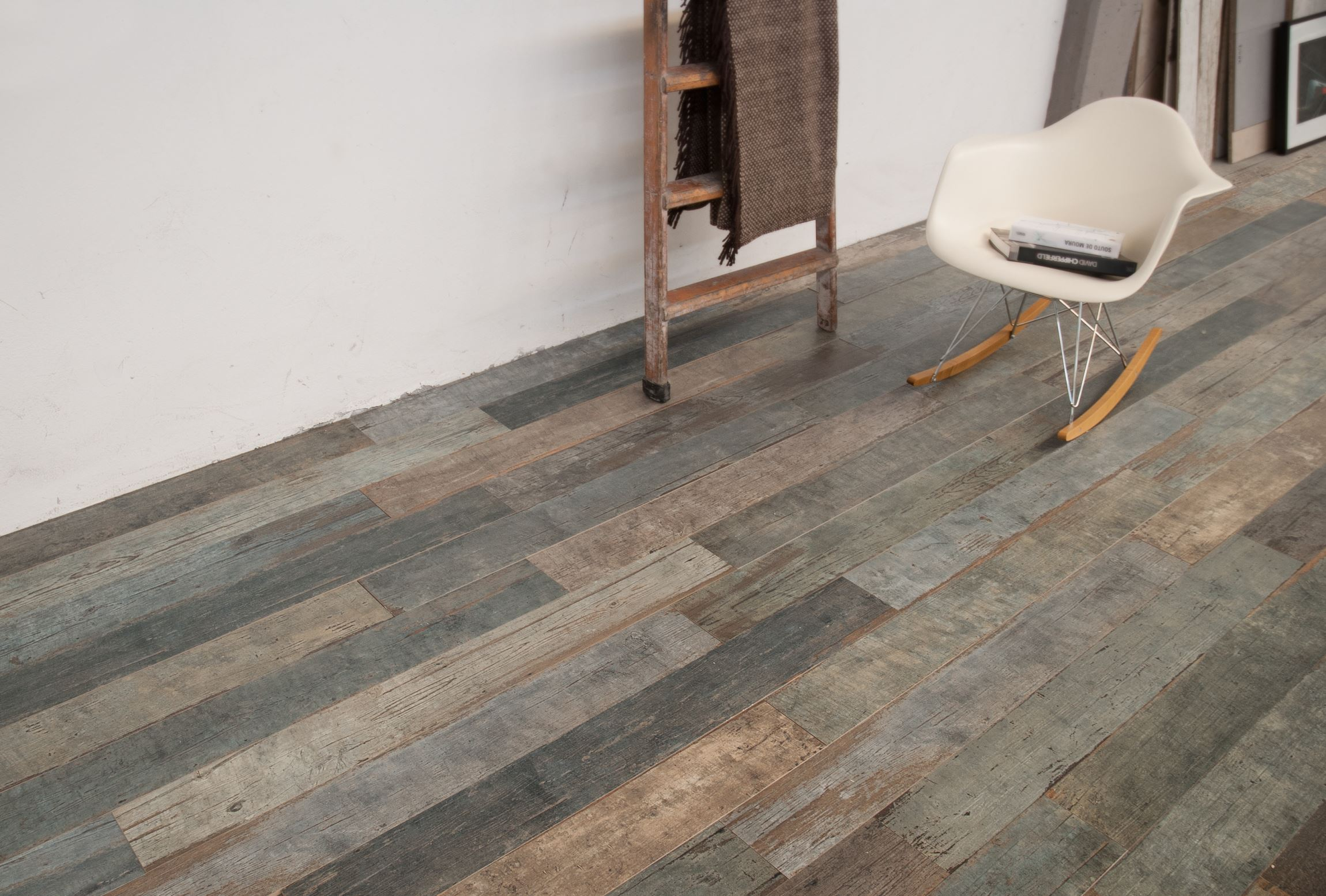 warm timber look porcelain tile
