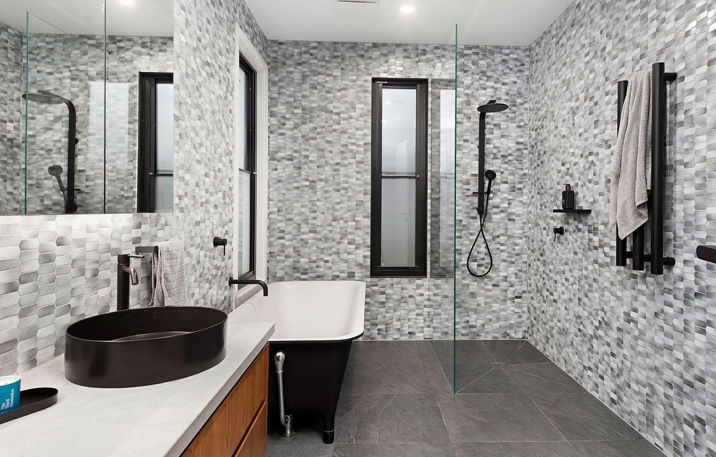 Basalt tile collection