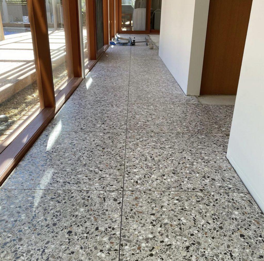 terrazzo look tiles
