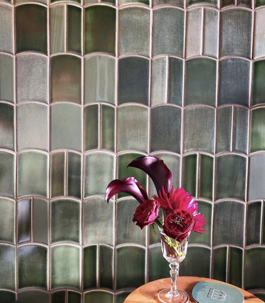 emerald wall tiles