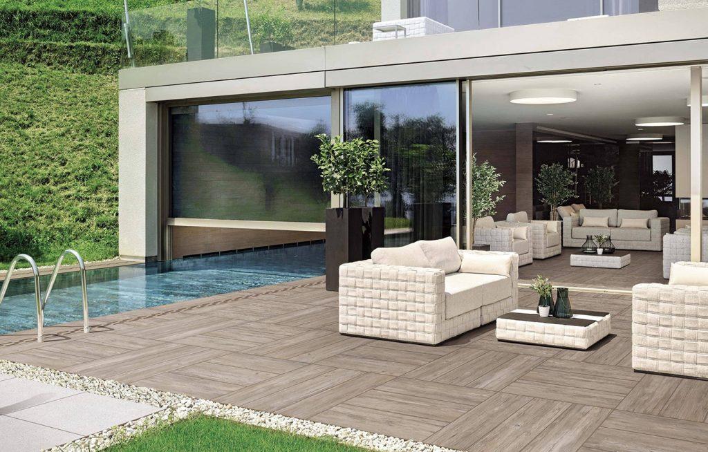 wood tech external tiles