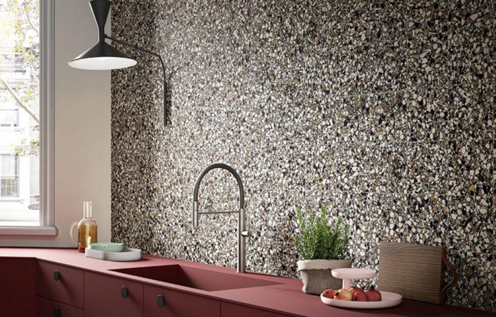 terrazzo splashback tiles