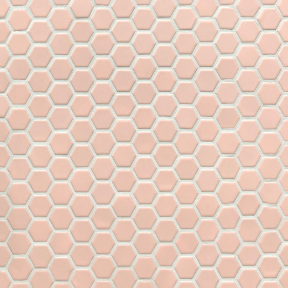 Pink Hexagon